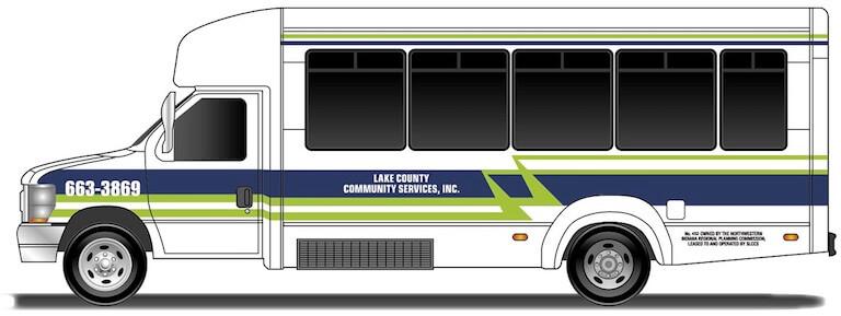 LCCS Elkhart Coach Bus